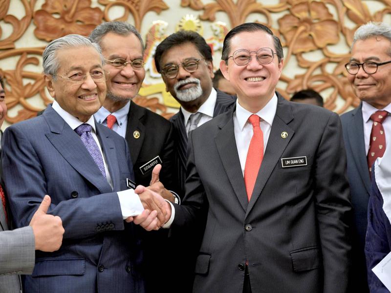 "Royalti Minyak: ""Saya Hanya Ikut Arahan Mahathir"" – Guan Eng"