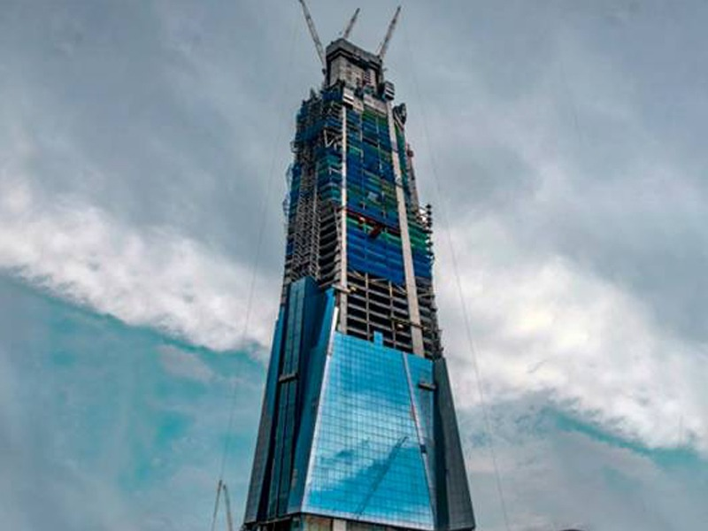 Menara Merdeka PNB 118 Sudah Lebih 42 Peratus Siap