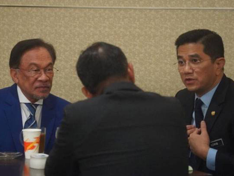 Pertemuan Anwar-Azmin Tak Sentuh Isu Politik – Saifuddin