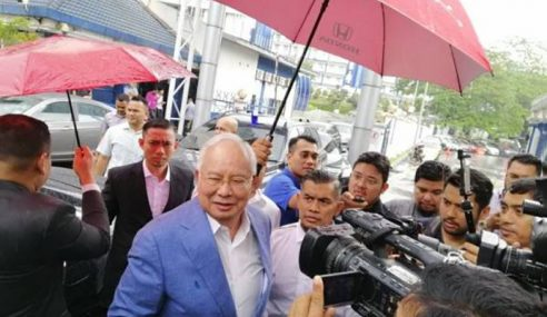 Hampir 2 Jam Najib Beri Keterangan Di Bukit Aman