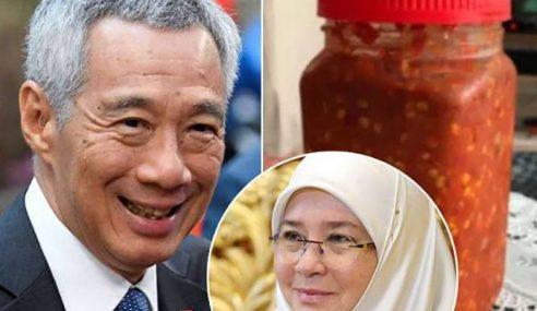 Suka Sambal Belacan Permaisuri Agong, PM Lee Luah Penghargaan