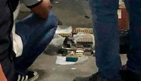 Bom, Peluru Hidup Ditemui Dalam Stor Pili Bomba
