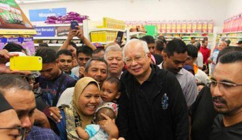 "Kaji GST: ""Kehendak Rakyat Kata Dia"" – Najib"
