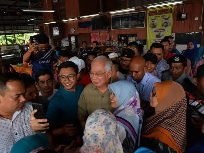 PRK Tanjung Piai: Najib Turun Bantu Kempen