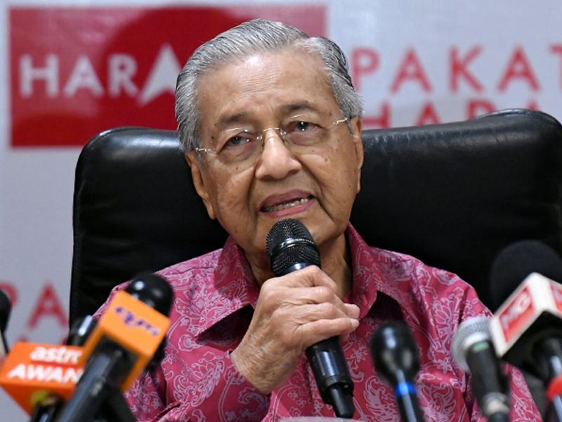 Mahathir Tepis Rakyat Tidak Sokong Pakatan Harapan