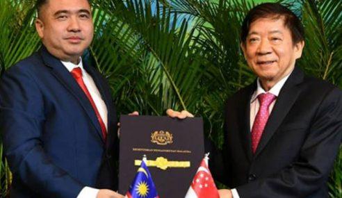 Singapura Berhak Tuntut Kos Tambahan Penggantungan RTS