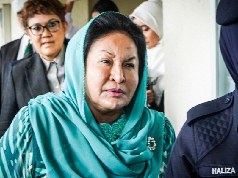 Kerajaan Fail Rayuan Halang Rosmah Periksa Barang Kemas Disita