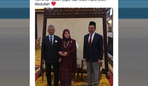 'Pickup Line' Raja Permaisuri Agong Hiburkan Netizen