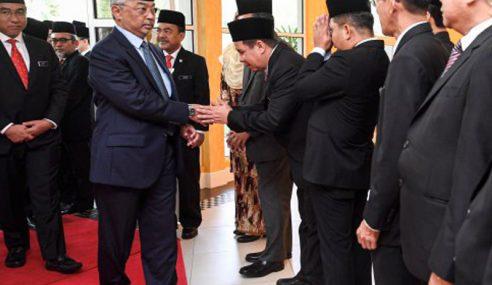 Agong Berangkat Ke Munaqasyah Agama Di Istana Negara