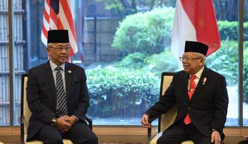 Agong Berkenan Terima Menghadap Wakil Presiden Indonesia