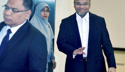 Nasharudin Mengaku Tak Bersalah 33 Tuduhan Rasuah RM4 Juta