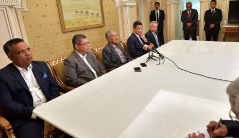 Majlis Presiden PH Tentu Jawatan PM – Mahathir