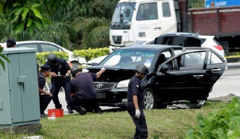 3 Individu Bersama Objek Dipercayai Bom Tangan Ditahan