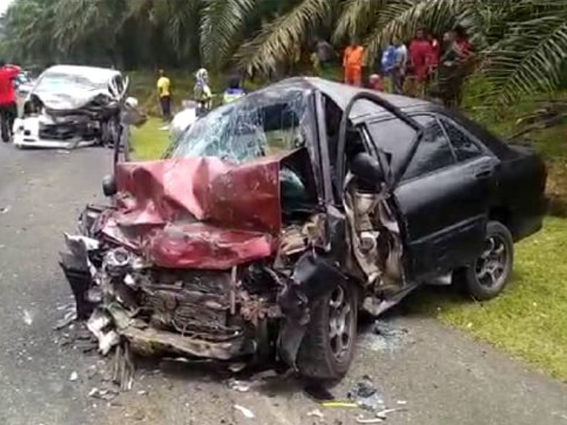 Suami Isteri Maut Kemalangan, 7 Anak Yatim Piatu