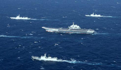 AS, China Diminta Kurangkan Kapal Tentera Di Laut China Selatan