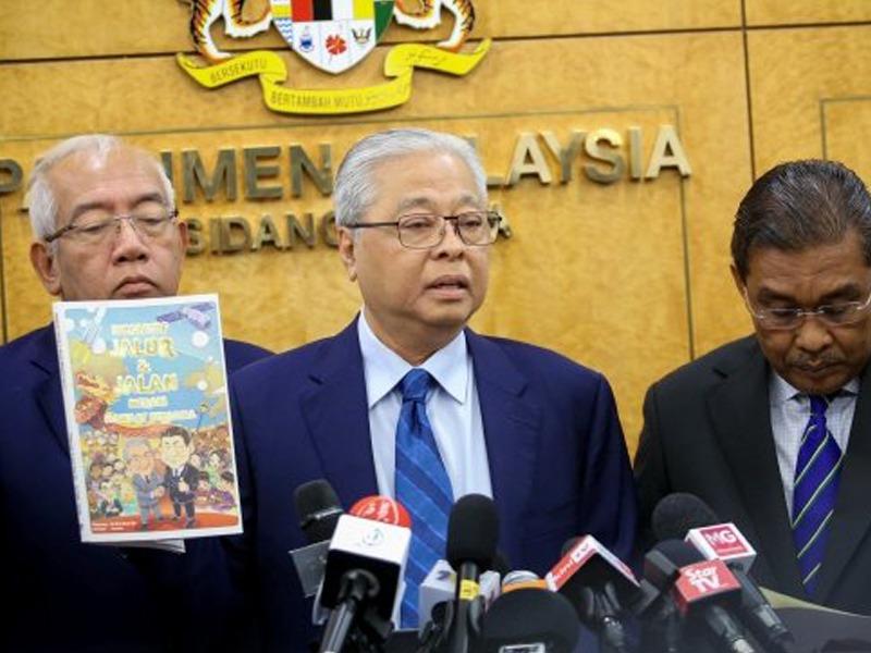 Komik Propaganda: Pembangkang Gesa KDN Siasat DAP