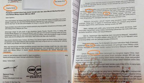 Najib Persoal Komik Berbentuk Propaganda Diedar Di Sekolah