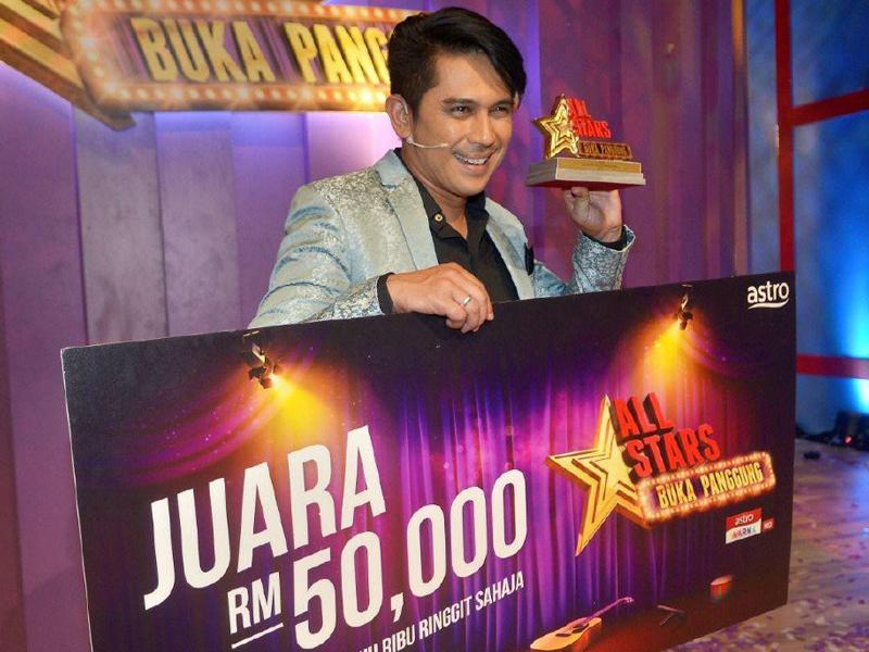 Zul Huzaimy Juara All Stars Buka Panggung