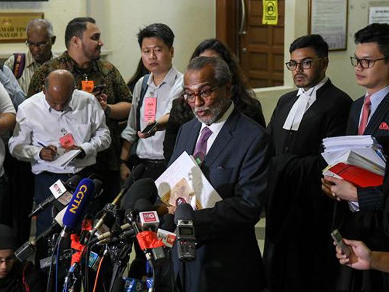 Shafee Kecewa, Mahu Patahkan Semua Dakwaan Pada Najib