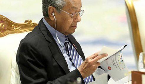 Mahathir Dengar Tapi Tidak Tahu Apa Yang Dibincangkan