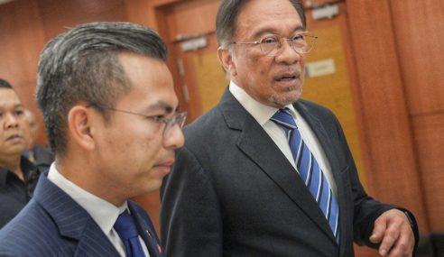 Anwar Di Dewan Rakyat, Bukan Istana Negara