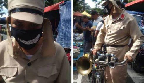 Kecoh 'Lelaki Komunis' Muncul Di Pasar Pulau Pinang