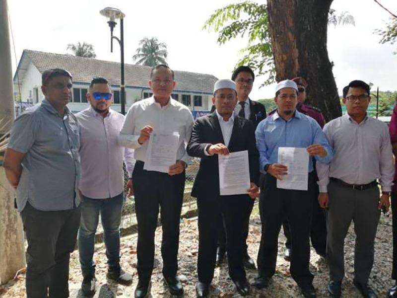 UMNO-PAS Buat Laporan Polis Terhadap Guan Eng