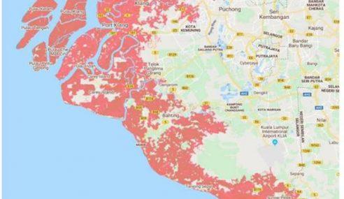 Bandar Utama Di Malaysia Akan 'Lenyap' Pada 2050?