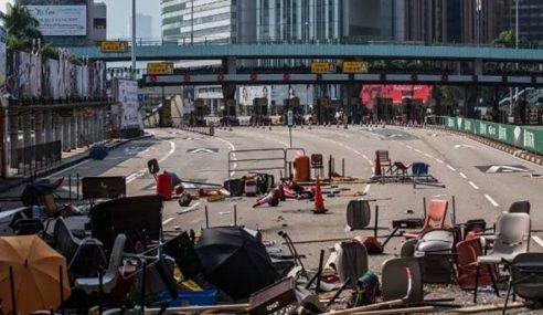 Tunjuk Perasaan Di Hong Kong Makin Ganas