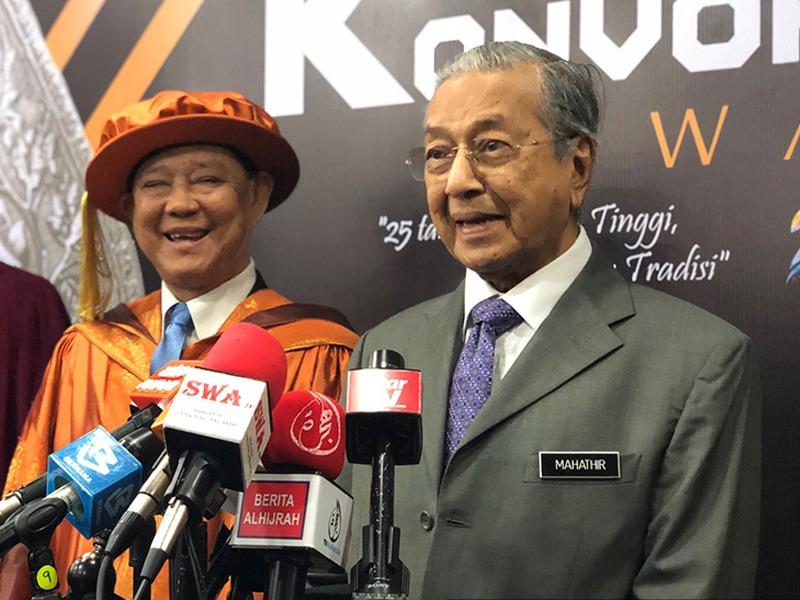 Mahathir Tidak Ikuti Pembatalan Pertuduhan LTTE
