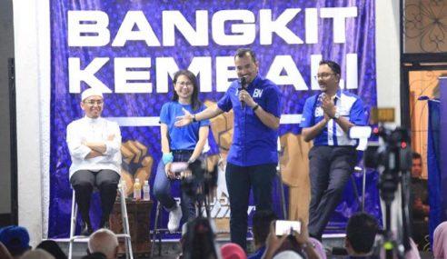 'Biru', 'Hijau' Sepentas Di Ceramah Pemuda Muafakat Nasional