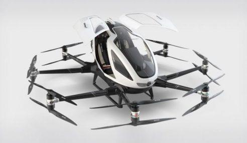 'Kereta Terbang' Bakal Diuji Menteri Hanyalah Dron?