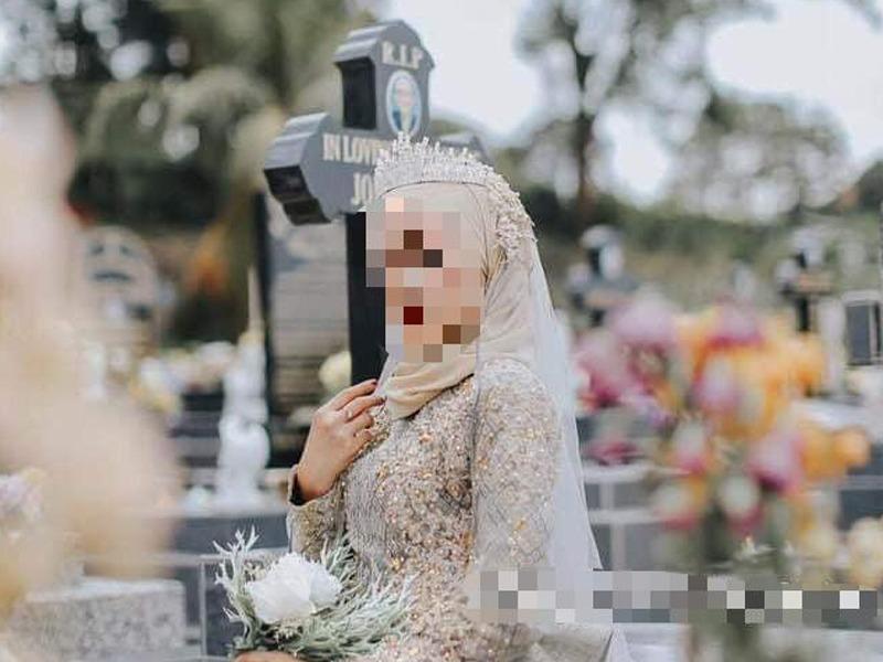 Pemilik Butik Pengantin Dikecam Photoshoot Di Kubur Kristian