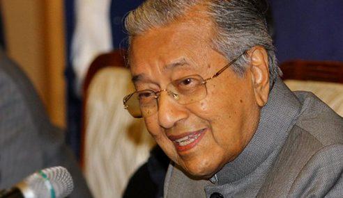 Tiada Tindakan Disiplin Ke Atas MB Perak – Mahathir