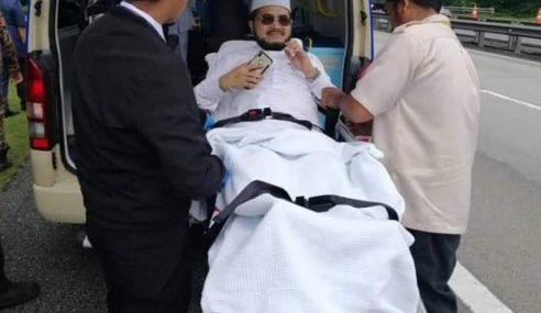 Ketua Dewan Ulamak PAS Kemalangan
