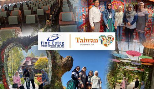 Harga Istimewa 5 Hari 4 Malam Ke Taiwan Oleh Five Estec Travel