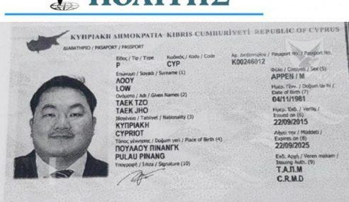 Jho Low Dipercayai Miliki Pasport Cyprus