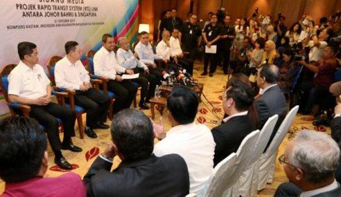 RTS Tak Atasi Kesesakan Tambak Johor – Mahathir