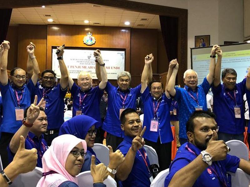 BN Rampas Tanjung Piai Dengan Majoriti 15,086 Undi
