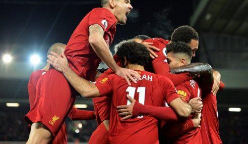 Liverpool Kekal Di Puncak, Manchester City Terkulai
