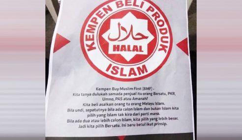 PH Dakwa Risalah Sokong Calon Islam Tindakan Sabotaj