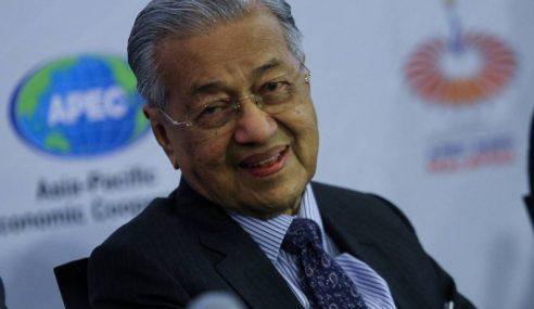 Mahathir Enggan Ulas Isu VVIP Jumpa Azilah