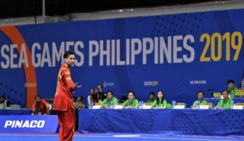 Pingat Emas Pertama Malaysia Melalui Wushu