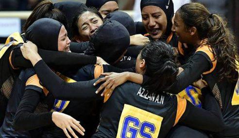 Bola Jaring Malaysia Unggul Emas