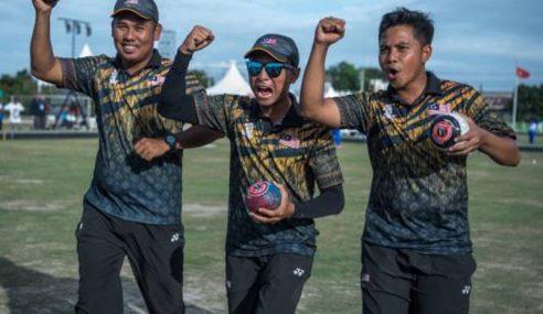 3 Emas Boling Padang Hadiah Paling Bermakna Atlet Negara