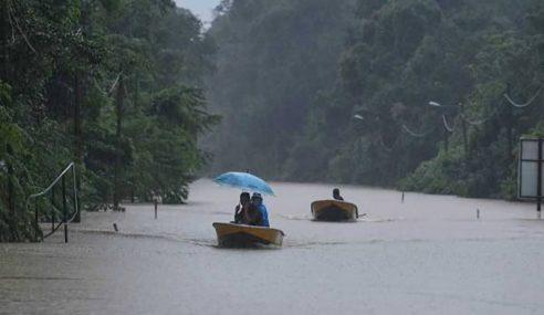 Mangsa Banjir Di Kelantan, Terengganu Meningkat Lebih 15,000