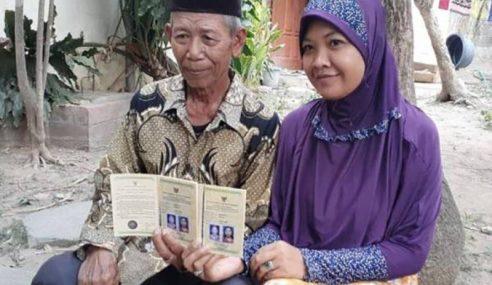 Nikah Lelaki 70 Tahun Dengan Hantaran RM15