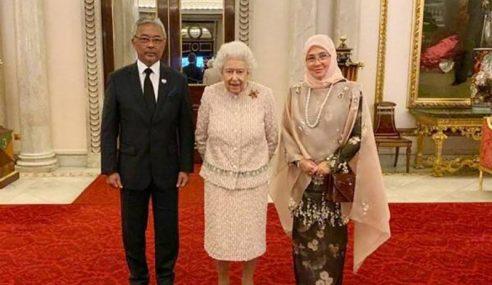 Agong Harap Kerjasama Malaysia-UK Dipertingkatkan