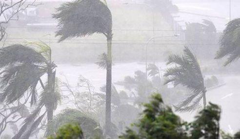 Amaran Hujan Lebat Di Pahang Dan Johor
