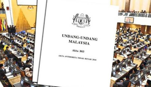 Dewan Negara Lulus Mansuh Akta Antiberita Tidak Benar 2018